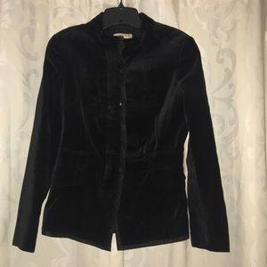 Coldwater Creek velvet blazer